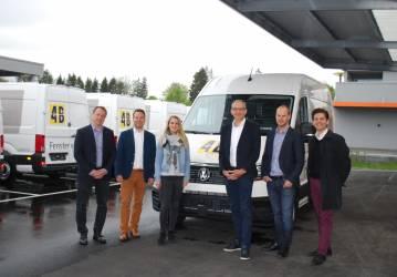 37 neue VW Crafter für die 4B AG
