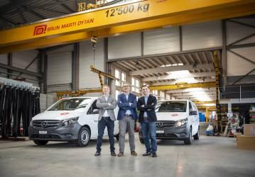 15 Mercedes-Benz Vito für die Brun Marti Dytan AG