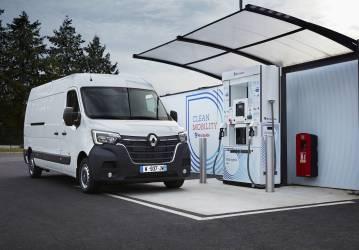 Renault fährt mit Wasserstoff