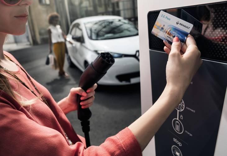 Renault Z.E. Pass: bequem und bargeldlos Strom «tanken»